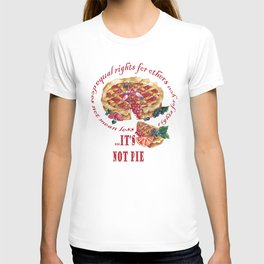 Equal rights pie T-shirt