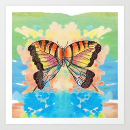 Simply Butterfly Art Print