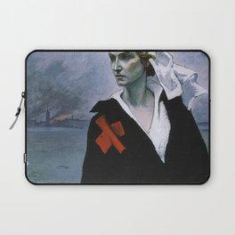 La France Croisee Romaine Brooks Laptop Sleeve