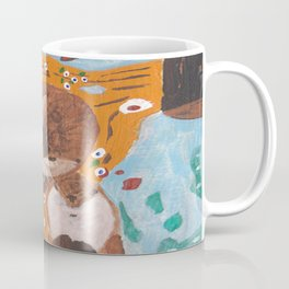 """If Klimt Painted Otters"" Transformation Project Final Transformation Coffee Mug"