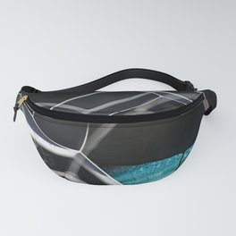 Abstract Bubbles Fanny Pack
