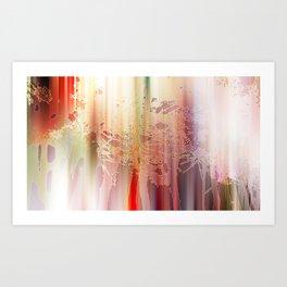 Golden trees - Eden Collection Art Print