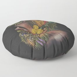 One With Nature  Floor Pillow