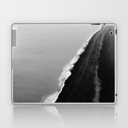 BLACK SAND BEACH Laptop & iPad Skin