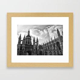 Visions of Cambridge University Framed Art Print