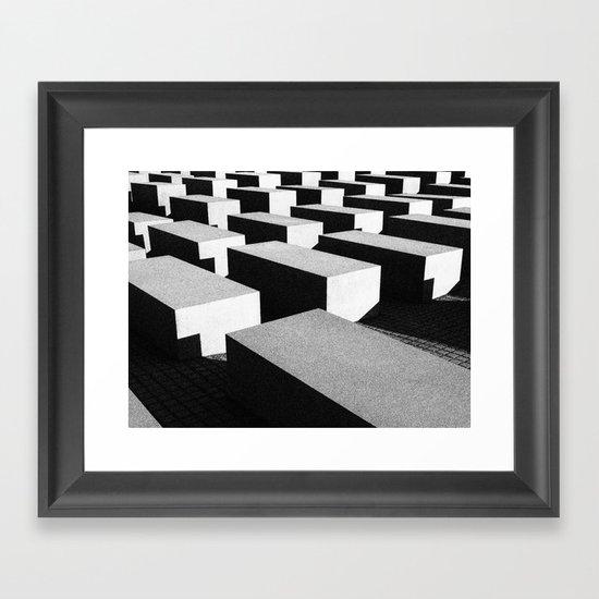 Berlin holocaust Framed Art Print