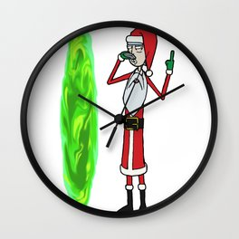 How the Rick Stole Christmas Wall Clock