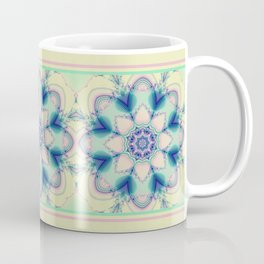 Spring in pastels with fantasy flower Coffee Mug