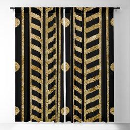 Art deco design II Blackout Curtain