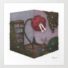 Time of Flower Art Print