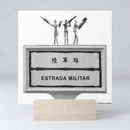 Military Street Mini Art Print