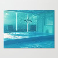 home alone Canvas Prints featuring Home Alone  by Falsework