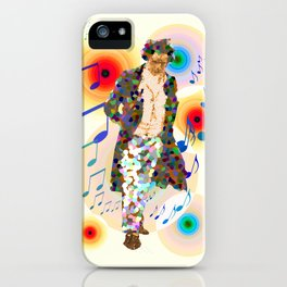 beethoven was deaf, but he could see music! iPhone Case