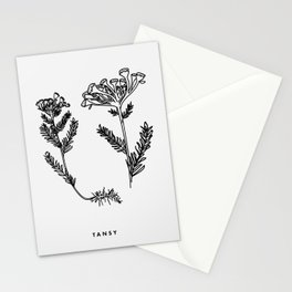 Tansy Botanical Stationery Cards