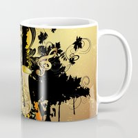 saxophone Mugs featuring Saxophone by nicky2342
