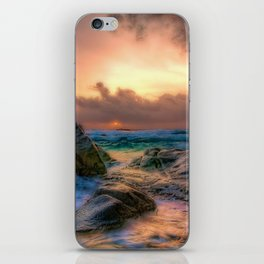 Tropical Sunset iPhone Skin