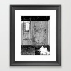 asc 543 - La lupara (Don't forget your silver bullets after midnight) Framed Art Print
