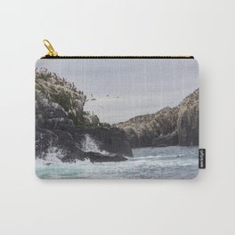 The Farne Islands Cliffs Carry-All Pouch