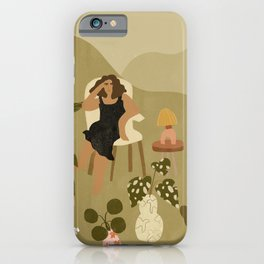 Plants Are My Friends iPhone Case