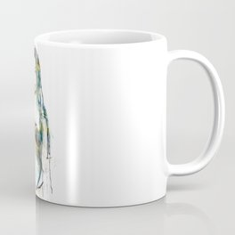 Lucy Black Eyes Coffee Mug
