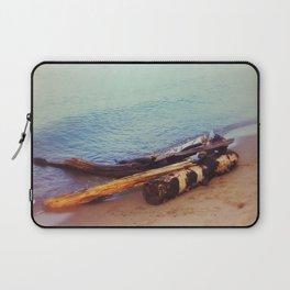 Driftwood at Lake Superior Laptop Sleeve