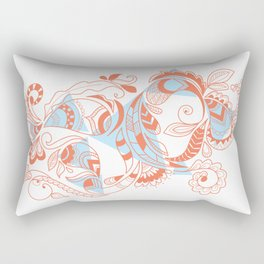 Tribal Paisley Rectangular Pillow