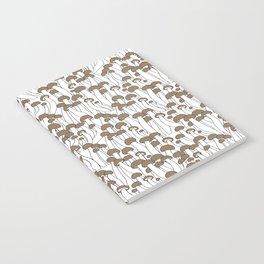 Beech Mushrooms Notebook
