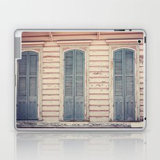 Three Shutters - New Orleans French Quarter Laptop & iPad Skin