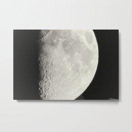 Shine on, like the moon, the stars and the sun Metal Print