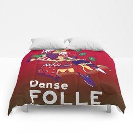 Gamer Geeky Chic FF6 Inspired Kefka Dancing Mad Danse Folle Comforters