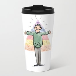 Amazin' Abe Maslow and His Hierarchy of Needs Travel Mug