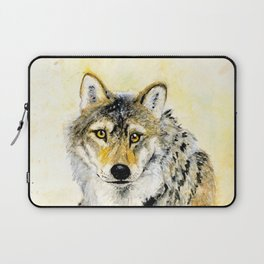 Totem Grey wolf Laptop Sleeve