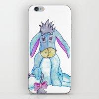 eeyore iPhone & iPod Skins featuring eeyore by Art_By_Sarah