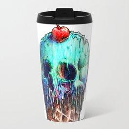 Ice Cream Skull Travel Mug