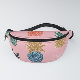 Pink Pineapples Fanny Pack