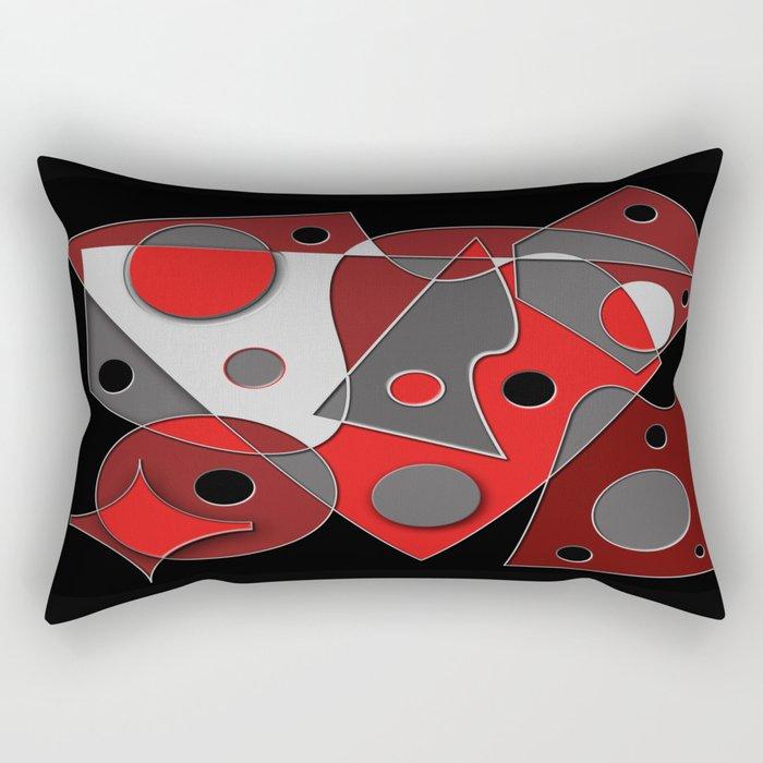 Abstract #321 Rectangular Pillow