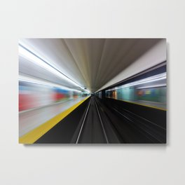 Speed No 2 Metal Print