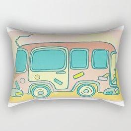 Hippie Bus Rectangular Pillow