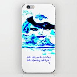Water Women_02 iPhone Skin