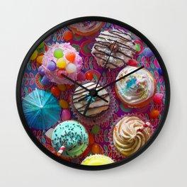 Cupcake du Jour Wall Clock
