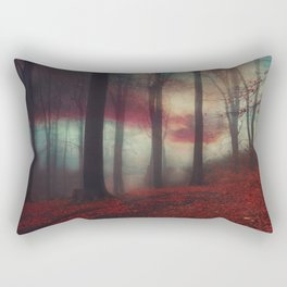 Fall Fantasy II - Moody Autumn Forest Rectangular Pillow