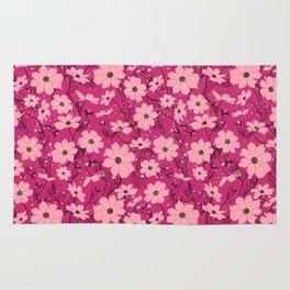 Cosmea pink Rug