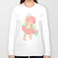 ponyo Long Sleeve T-shirts featuring Ponyo by Luciana Nascimento