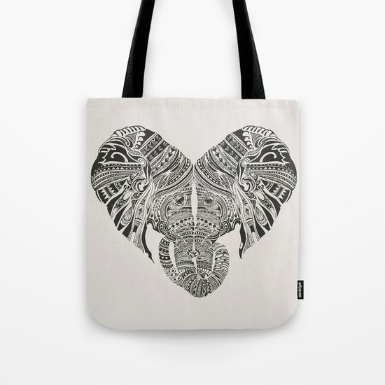 Huge Heart Tote Bag