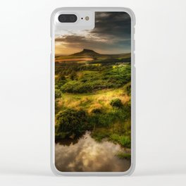 Natures Mirror Clear iPhone Case