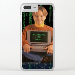 It's All Code Clear iPhone Case