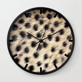 Cheetah Pattern Style Wall Clock