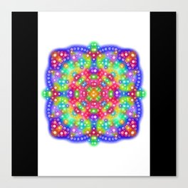 Joy Mandala Canvas Print