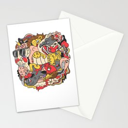 February Brain Dump Stationery Cards