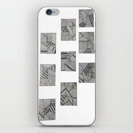 rubik's cube two iPhone Skin